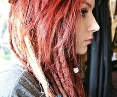 partial dreads, TOO EXCITED FOR WORDS