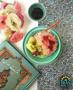 Faloodeh & ice cream, Iran