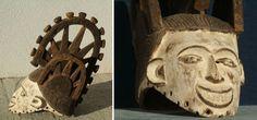 Frauenmaske Ibo - Stammeskunst