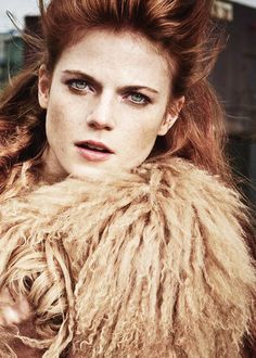 Rose Leslie for InStyle UK November 2014, Photographed by Thanassis Krikis.