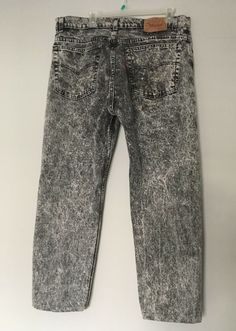 5a033a7f Awesome Levi's student made in USA jeans Actual size is 28 waist and 31  inseam Small hole on front of left leg