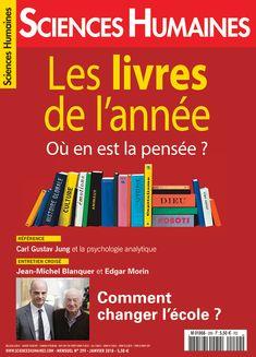 """Sortie du numéro 299 du magazine Sciences Humaines : """"Les livres de l'année"""" (janvier 2018)  Disponible en version papier et pdf  Sommaire complet, commande en ligne :  https://www.scienceshumaines.com/les-livres-de-l-annee_fr_671.htm  Éditorial de Jean-François Dortier en accès libre : https://www.scienceshumaines.com/sur-ma-table-de-chevet_fr_39198.html"""