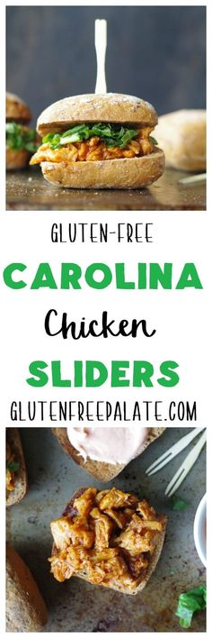 These Gluten-Free Carolina Chicken Sliders will not disappoint. Tangy, mouth-watering, and quick to make, they will be a new favorite in your house.