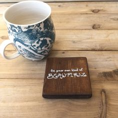 $4 Rustic Wood Coaster-Be Your Own Kind of Beautiful by Beautiful Winds Sealed for Hot/Cold Drinks!  Great Gift for women!  Great gift for Teens! Every girl needs to remember she is beautiful!! https://www.etsy.com/listing/464725371/rustic-wooden-coaster-be-your-own-kind?ref=shop_home_active_1