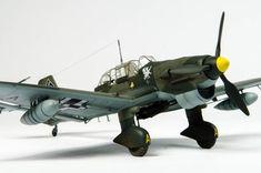 Hasegawa 1/48 Junkers Ju 87 R-2 by Alan Price
