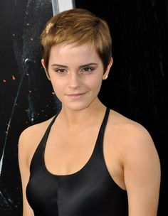 Emma Watson's Lovely and Charming Pixie Cut. Perhaps my next style?