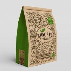 Packaging Design - Get A Custom Product Package Design Online Bio Packaging, Organic Packaging, Paper Packaging, Coffee Packaging, Product Packaging, Food Branding, Food Packaging Design, Branding Design, Food Logos