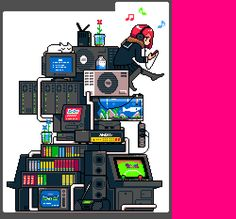 Love Pixel Art? Check out These Stunning 8-bit GIFs of Japan | eTeknix