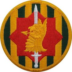 89th Military Police Brigade Class A Patch
