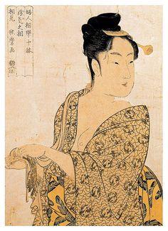 004-La hedonista 1792-Kitagawa Utamaro-Ciudad de la Pintura - Cesar Ojeda