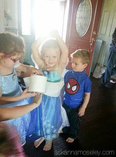 Frozen birthday party ideas - Ask Anna