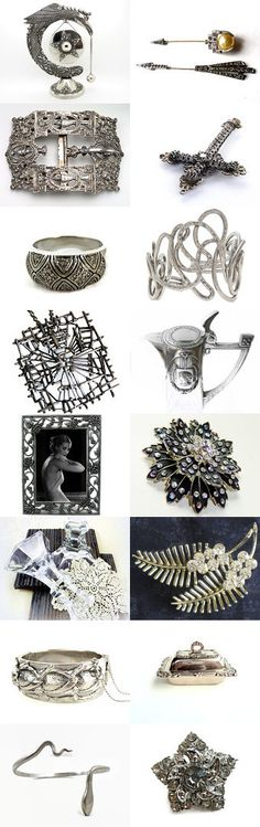 Silver Gifts for Mom by Pat on Etsy--Pinned with TreasuryPin.com