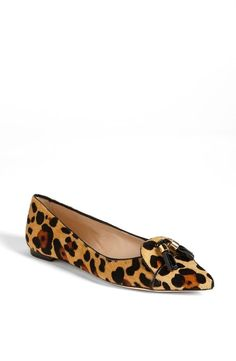 <3 kate spade new york pointed toe flat