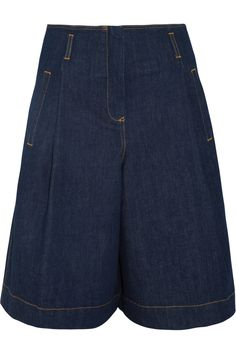 See By Chloé Denim Culottes in Blue