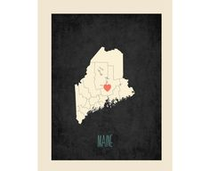 Maine, by fresh words market