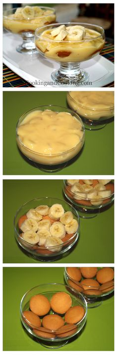 Banana Custard Pudding is a light and refreshing dessert recipe for summer days, and can be your dessert after lunch. Banana Recipes, Pudding Recipes, Fruit Recipes, Sweet Recipes, Cooking Recipes, Easy Recipes, Summer Dessert Recipes, Easy No Bake Desserts, Dessert Drinks