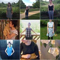 STONEMOUNTAIN & DAUGHTER FABRIC: Me Made May 2016 - Week 4 Roundup