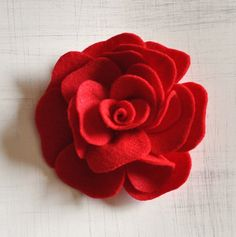 ***This Listing is a DIY PDF Headband Pattern for the Felt Rose Brooch (NOT A MADE ROSE).*** Your PDF Pattern and Printable Template Pattern will be available to instantly downloaded to you within 12 hours of purchase. If you dont get it within 12 hours of purchase, please contact