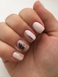 150 cute nail art designs for short nails 2019 9 + Cute Nail Art Designs, Short Nail Designs, Summer Nail Designs, Perfect Nails, Gorgeous Nails, Cute Nails, Pretty Nails, Ongles Beiges, Stylish Nails