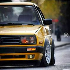 Golf mk 2 with front of jeta Golf 1, Vw Scirocco, Volkswagen Jetta, Carros Bmw, Audi, Toyota Cars, Vw Cars, Sport Cars, Cool Cars