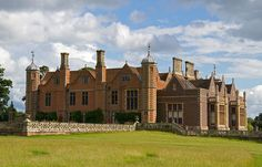 Charlecote Park, built in 1558 and extended during the 19th Century