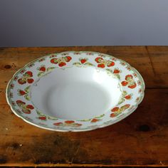 Bishop and Stonier Serving Dish Stony, Vintage China, Serving Dishes, Plates, Tableware, Handmade Gifts, Licence Plates, Kid Craft Gifts, Serving Plates