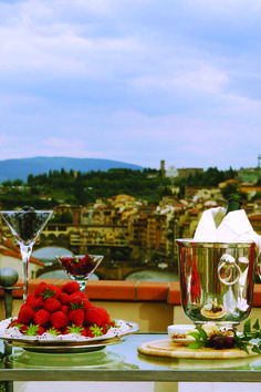Belvedere Suite Terrace. The Westin Excelsior, Florence.