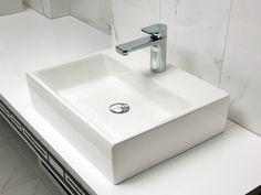 513551R1 Villeroy & Boch  V&B Memento Toppmontert Servant 500x420 mm, 1 blanderhull, Ceramic Plus