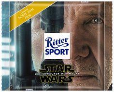 Star Wars - Das Erwachen der Macht - HanSolo  #StarWars #HanSolo #TheForceAwakens #DasErwachenDerMacht #RitterSport