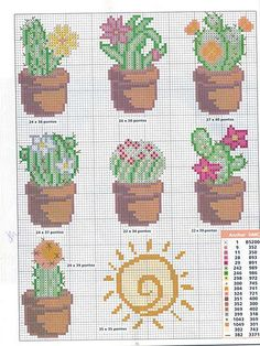 Thrilling Designing Your Own Cross Stitch Embroidery Patterns Ideas. Exhilarating Designing Your Own Cross Stitch Embroidery Patterns Ideas. Cactus Cross Stitch, Mini Cross Stitch, Cross Stitch Flowers, Cross Stitch Boards, Cross Stitch Bookmarks, Cactus Embroidery, Embroidery Patterns, Cross Stitch Designs, Cross Stitch Patterns
