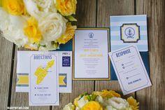Put in Bay Ohio Modern Nautical Beach wedding  by Mary Wyar Photography http://MaryWyar.com