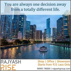 There comes a time in life when you have to make a decision. Take positive decision and you will be in the right direction of success. You are always one decision away from a totally different life. To change your life and start your entrepreneur journey we are offering shop showroom and office starting from 15 lacs only. Call now on 90993 78000 and make a decision that will change your life.  #Entrepreneur #Startup #Life #Journey #Decision #Business #Shop #Showroom #Corporate #Office…