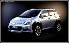 В скором времени Fiat представит миру новый кроссовер, который получит полное имя Fiat 500Х.