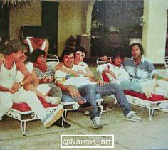 El Arete, Otto y El Negro Pabon. Pablo Emilio Escobar, Pablo Escobar, Narcos Pablo, Colombian Drug Lord, Chapo, Neymar, Wild West, My Dad, Survival Skills