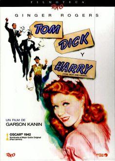 Janie no acaba de decidirse: no sabe si casarse con Tom, un vendedor de coches con una prometedora carrera; Harry, un mecánico extrovertido y algo   alocado; o Dick, un multimillonario. La joven imaginará su vida de casada con sus tres pretendientes antes de tomar la decisión final. Protagonizada por la   popular estrella Ginger Rogers, Tom, Dick y Harry es una divertida comedia romántica dirigida por Garson Kanin y nominada al Oscar al Mejor Guión Original