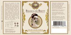 Cerveja Branca de Brett, estilo American Wild Ale, produzida por Cervejaria Serra de Três Pontas, Brasil. 5.5% ABV de álcool.