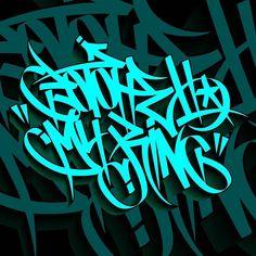 Graffiti Lettering Fonts, Graffiti Writing, Graffiti Tagging, Graffiti Alphabet, Lettering Design, Graffiti Canvas Art, Graffiti Piece, Glitter Wallpaper, Caligraphy