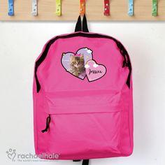 Personalised Rachael Hale Doodle Pug Bike School WATER Drinks BOTTLE Girls Gift