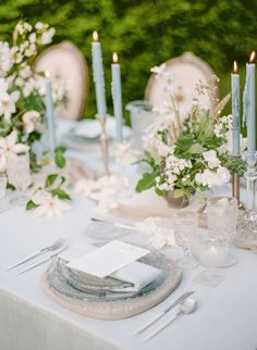 This stunning reception table is fit for a fairytale wedding