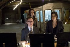 Samaritan shows its power by erasing crime from the city for a day in an attempt to force The Machine out of hiding, on PERSON OF INTEREST, Tuesday, Dec. 16 (10:01-11:00 PM, ET/PT) on the CBS Television Network. Photo: John Paul Filo/CBS ©2014 CBS Broadcasting Inc. All Rights Reserved.