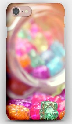 iPhone 7 Case Figurines, Colorful, Bank, Glass