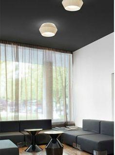 Plafón de la colección BICONICA, Ref: 2543 pantalla en 35 cms de diámetro con tapa difusora, cinta según muestrario, también puede ser en 45, 55, 65 cms http://www.raco-ambient.com/racoclas…/lampara/ref-2543-2544/ http://www.raco-ambient.com/
