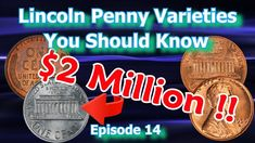 In the installment of Lincoln penny varieties, You Should Know I explore Valuable Pennies to look for while coin roll hunting or in your pocket change. Valuable Pennies, Rare Pennies, Valuable Coins, Old Coins Value, Penny Values, Sell Coins, Rare Coins Worth Money, Penny Coin, Coin Worth