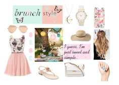 """""""Sweet and Simple."""" by xxrhianxx on Polyvore featuring Marc Fisher, Marni, Linda Farrow, Casetify, Sydney Evan and L.L.Bean"""