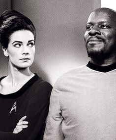 Sisko and Jadzia Dax - Trials and Tribble-Ation