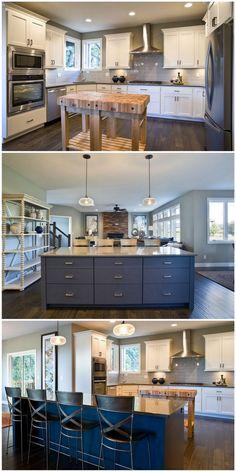 21 Gorgeous + Modern Kitchen Designs By Dakota