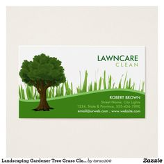 Landscaping Gardener Tree Grass Clean Nature