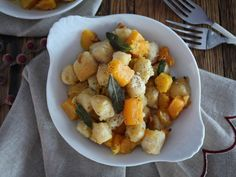 Butternut Squash Gnocchi with Sage Brown Butter |
