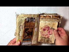 """Pretty Little Things"" vintage style junk journal (sold) - YouTube"