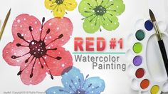 Step-by-Step Watercolor Painting for Beginners - Level 1  https://youtu.be/ziExMib7FL8